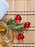 свежий rosemary масла массажа теплый Стоковое Фото