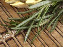 свежий rosemary масла массажа теплый Стоковое фото RF