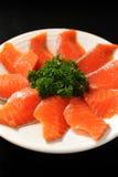 Свежий Salmon ломтик Стоковые Изображения RF