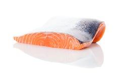 свежий salmon стейк Стоковая Фотография