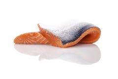 свежий salmon стейк Стоковые Изображения