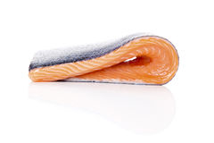 свежий salmon стейк Стоковое Фото