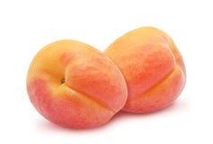 2 свежих абрикоса Стоковое Изображение RF