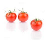 3 свежих зрелых томата Стоковые Фотографии RF