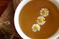 Свежо заваренный чай стоцвета стоковая фотография rf