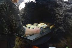 Свежо сваренные empanadas стоковое изображение