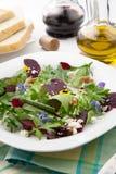 Свеклы и салат зеленых цветов младенца Стоковые Изображения RF