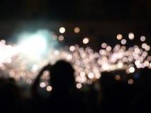 Сверкнать толпа Стоковые Фотографии RF