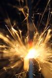 Сверкная бенгальский огонь Стоковое фото RF