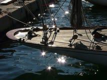 Сверкная вода, St Tropez, Франция стоковое фото rf