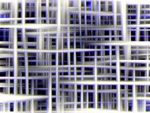 Сверкная голубые линии, формы геометрии, абстрактная предпосылка, красочная геометрия иллюстрация вектора