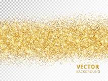 Сверкная граница яркого блеска изолированная на прозрачной предпосылке, vec бесплатная иллюстрация