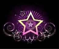 сверкная звезда иллюстрация вектора