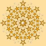 Сверкная звезды Стоковые Изображения RF