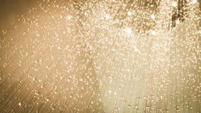 Сверкная кристалл украсил предпосылку Стоковые Фотографии RF