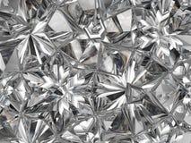 Сверкная крупный план и калейдоскоп макроса диаманта Стоковое фото RF