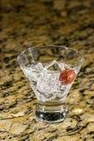 Сверкная напиток на льде с плодоовощ Стоковые Фото