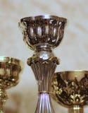 Сверкная чашки для спортивных достижений стоковая фотография