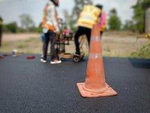 Сверлить для дорожного покрытия асфальта стоковые изображения