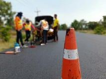 Сверлить для дорожного покрытия асфальта стоковое фото rf