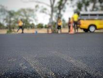 Сверлить для дорожного покрытия асфальта стоковое изображение