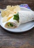 Сверните вверх сандвич обруча Стоковые Фотографии RF