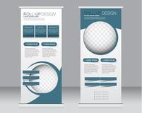 Сверните вверх шаблон стойки знамени Абстрактная предпосылка для дизайна, Стоковая Фотография RF
