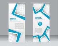 Сверните вверх шаблон стойки знамени Абстрактная предпосылка для дизайна, Стоковое Изображение RF