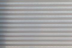 Свернутая пластичная дверь штарки Стоковое фото RF
