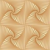 Свернутая striped картина Стоковое Изображение RF