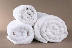 Свернутые полотенца Terry Стоковое Изображение
