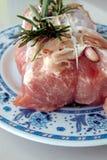 свернутый свинина Стоковое Изображение RF