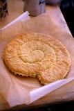 Свернутый торт яичка миндалины Стоковое Изображение