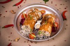 Свернутый vegetable салат Стоковые Изображения