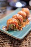 свертывает salmon суши Стоковые Фото