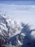 свертывать облаков стоковые фотографии rf