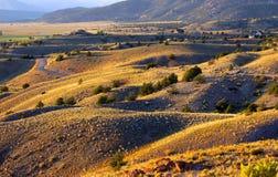свертывать холмов colorado Стоковое Изображение RF