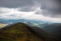 Свертывая горы голубого Риджа стоковые изображения rf