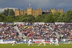 Сверчок: Англия v Австралия 4-ое Ashes день 4 испытания Стоковое фото RF