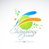 Сверчок Champions концепция лиги с шариком Стоковые Фотографии RF