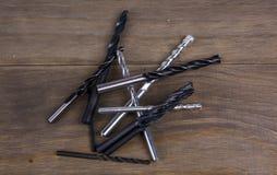 сверла metal комплект Стоковая Фотография