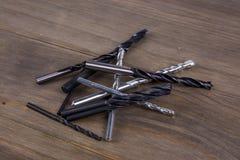 сверла metal комплект Стоковые Фото