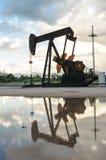 Сверлить нефтяной платформы стоковое изображение rf