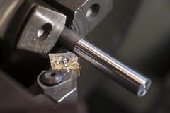 Сверлить токарного станка стоковые изображения rf