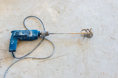 Сверло с затвором для шевелить стоковое изображение rf