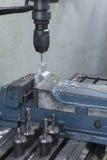 Сверло филировальной машины на верхней части Стоковая Фотография
