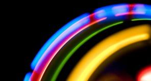 Света абстрактного движения красочные Стоковые Фотографии RF