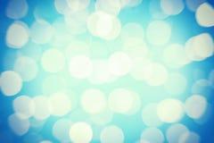 света абстрактного украшения chritsmas предпосылки defocused Стоковые Фотографии RF