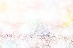 света абстрактного украшения chritsmas предпосылки defocused Стоковое фото RF