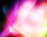 света абстрактной предпосылки цветастые накаляя Стоковое Фото